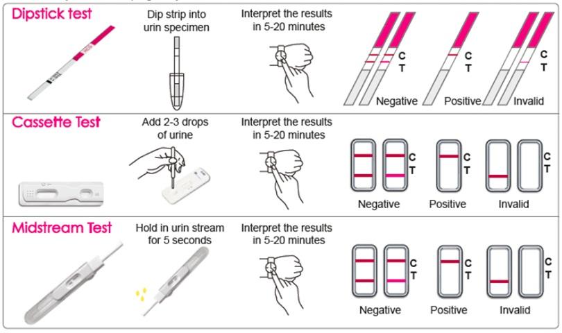 تشخیص حاملگی با اندازه گیری Beta HCG در خون یا ادرار